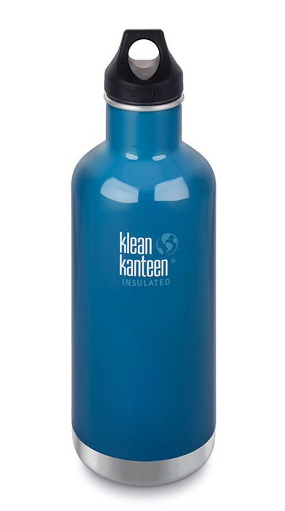 INSULATED BLUE Clasic Loop Water Bottle: 946ml (32oz)
