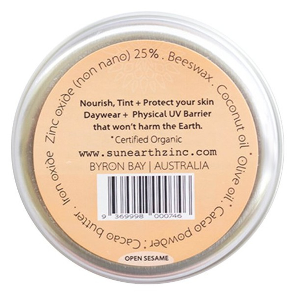 Sun & Earth natural Zinc Protection Day Cream: Sandy Light