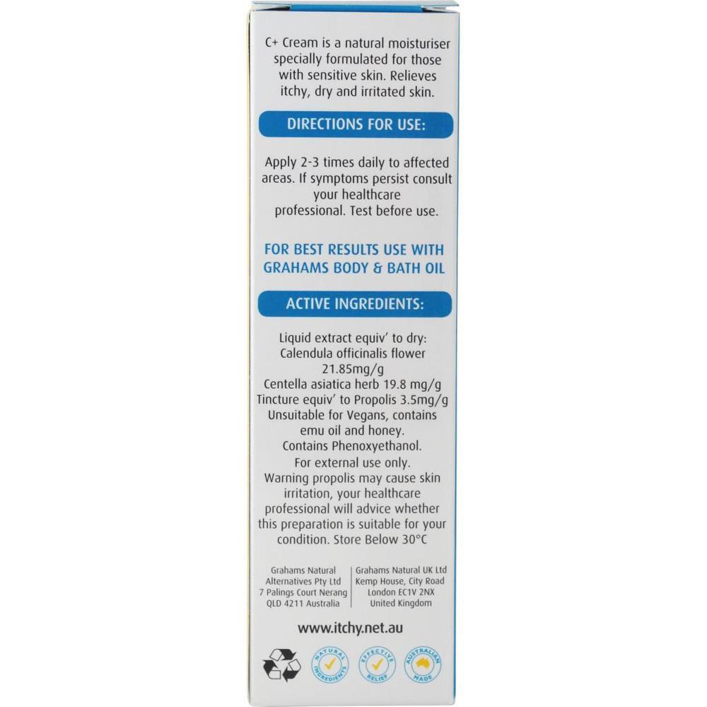 C+Cream - Eczema & Dermatitis Cream:120g