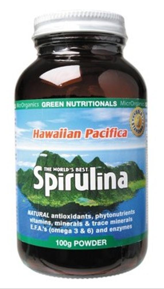 Spirulina Hawaiian Pacifica 100g Powder