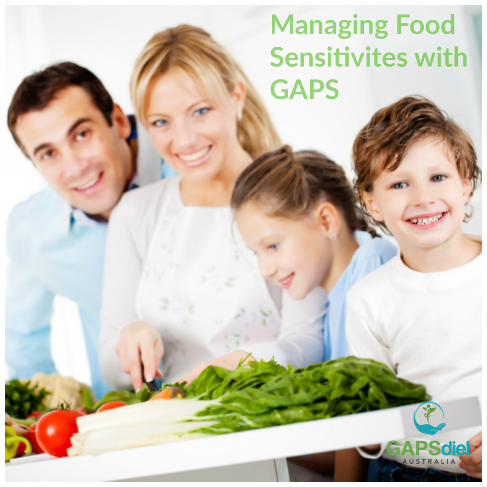 How do we manage food sensitivities on the GAPS Diet?