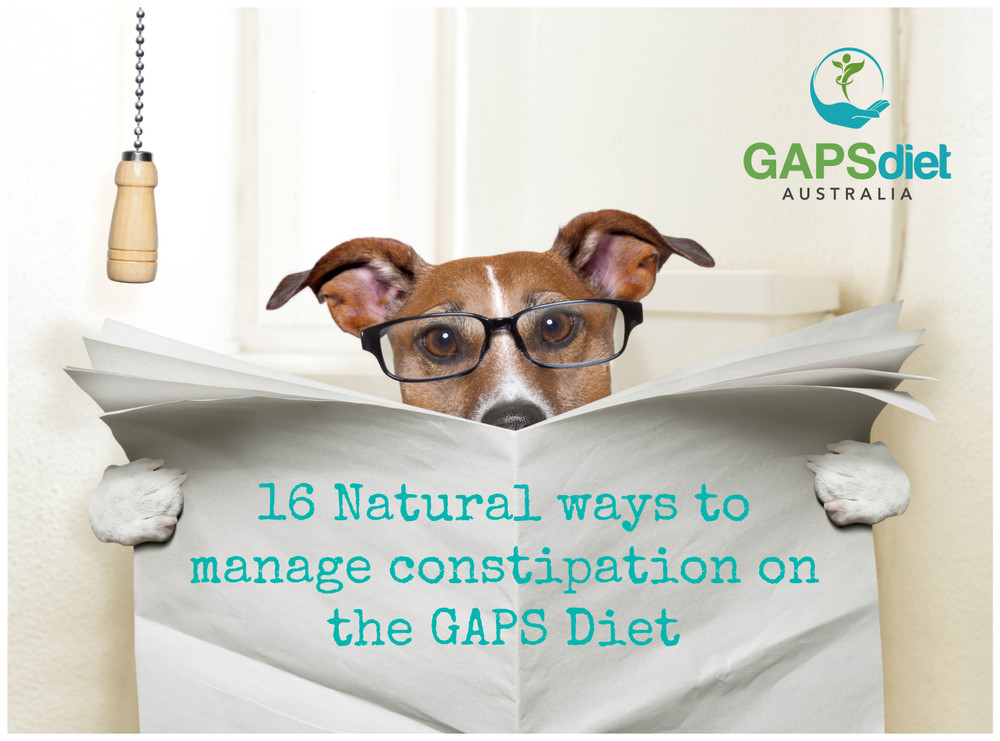 16 ways to naturaly address constipation for GAPS
