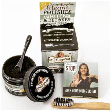 My Magic Mud - Teeth Charcoal Cleaning Powder: 30g Tub