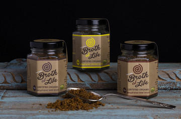 Organic Dehydrated BEEF Broth: 45grams - out of stock