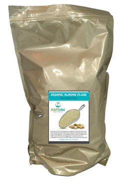 BLANCHED ORGANIC ALMOND FLOUR