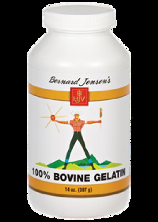 Bernard Jensen's 100% Bovine Gelatin Powder 397g (14 oz) - Out of Stock