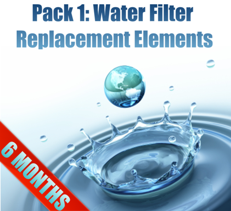 Pack 1: MAXI Filter Replacement Elements