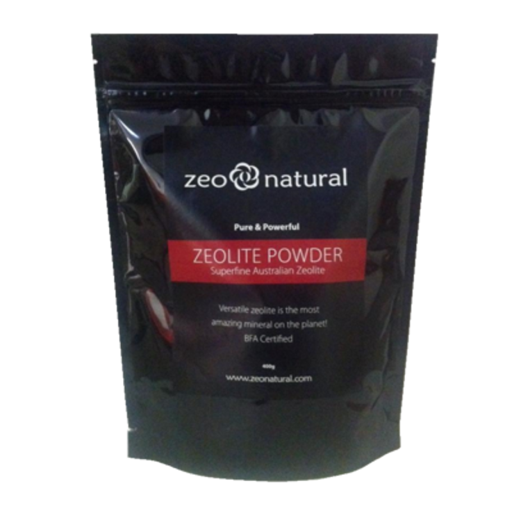 Certified Organic ZEOLITE Powder 400grams