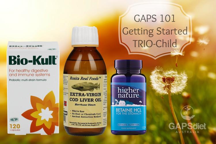 GAPS 101 Trio value Pack: CHILD