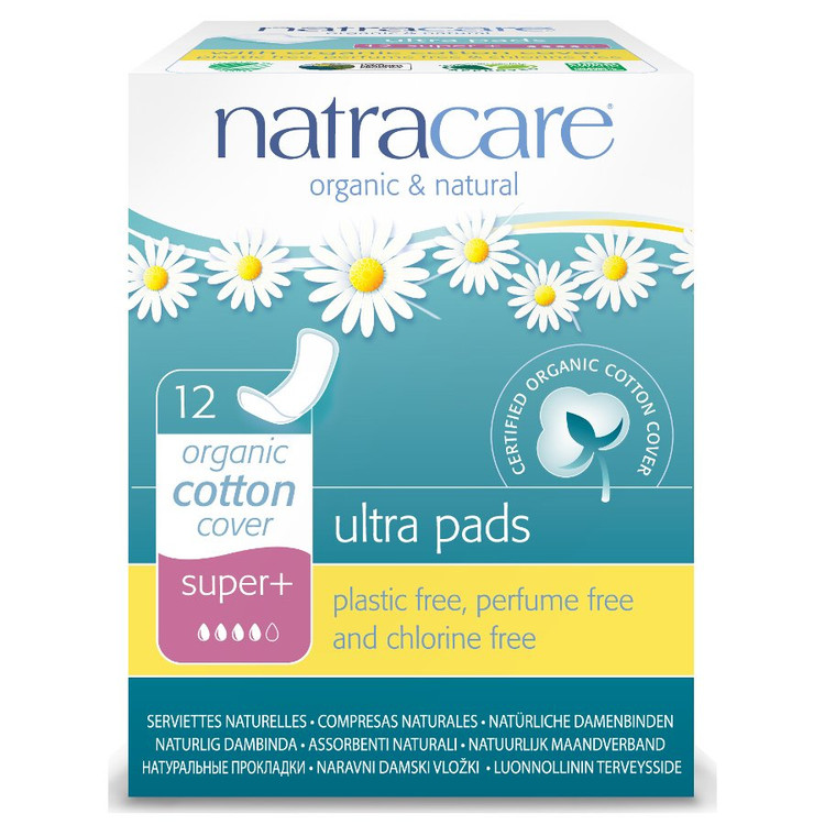 Natracare Organic and Natural Ultra Pads SUPER