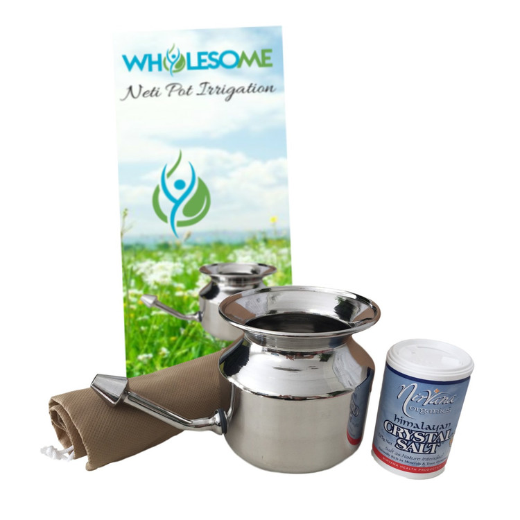 Neti Pot Irrigation Kit: 450mls