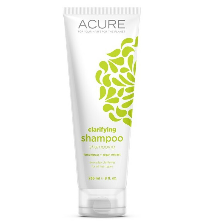 ACURE Clarifying Shampoo: Lemongrass & Argan Stem Cell 235ml