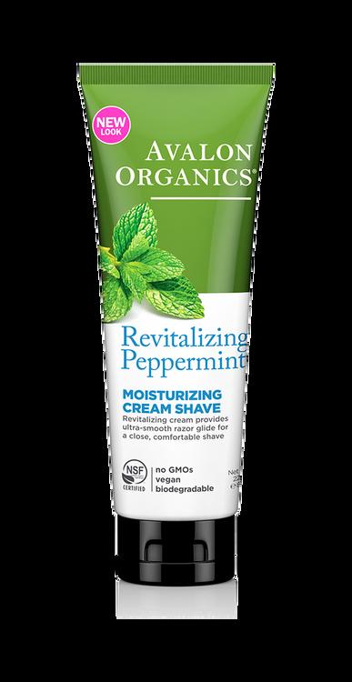 Avalon Organics Peppermint Shave Cream: 227g