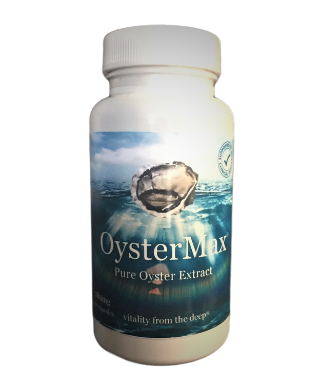 *OysterMax - Zinc Food Supplement: 120 Capsules