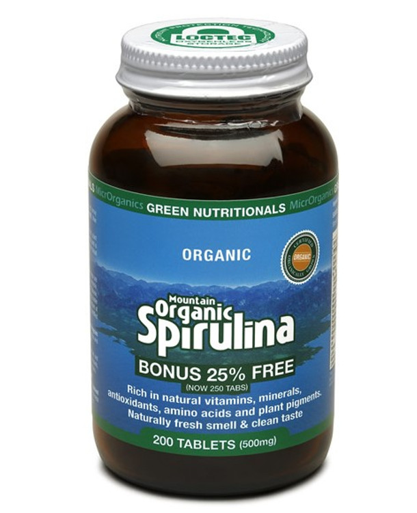 Mountain ORGANIC Spirulina Hawaiian Pacifica 250g Powder