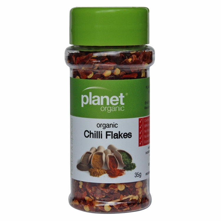 Planet Organic - Chilli Flakes 35g