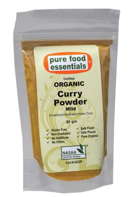 Pure Food Essentials - Organic Curry Powder 80g