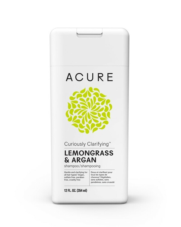 ACURE Curiously Clarifying Lemongrass & Argan Shampoo - 354ml