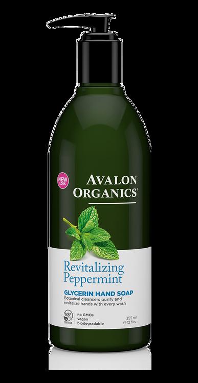 Avalon Organics Hand Soap Peppermint: 340g