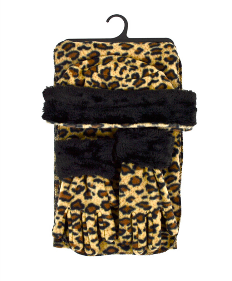 6 Pack Women's Polyester Fleece Winter Set WSET92