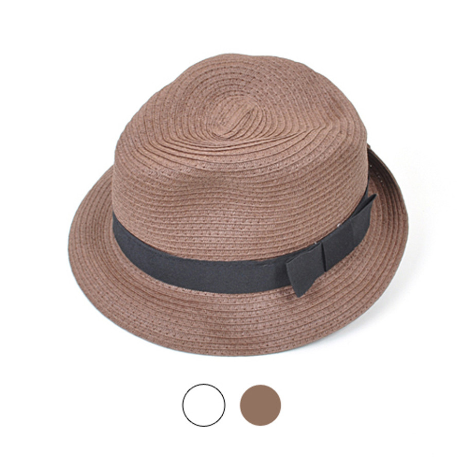 "6pc 2"" Brim Fedora Hat H0542"