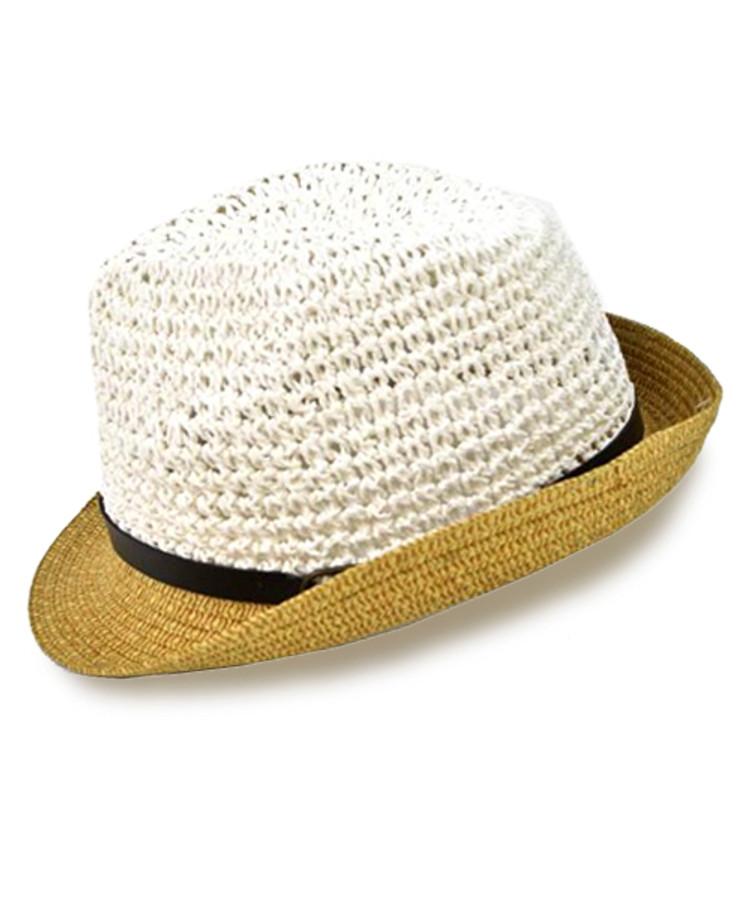 "3pc 2"" Brim Fedora Hat H8701"