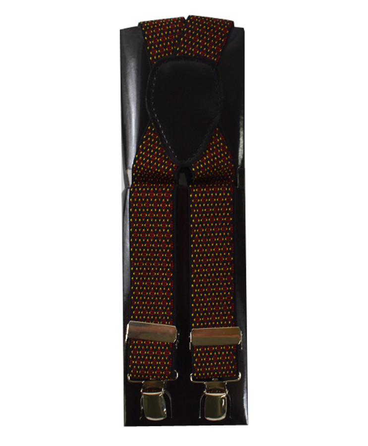 Fancy Clip Suspenders FCS4711