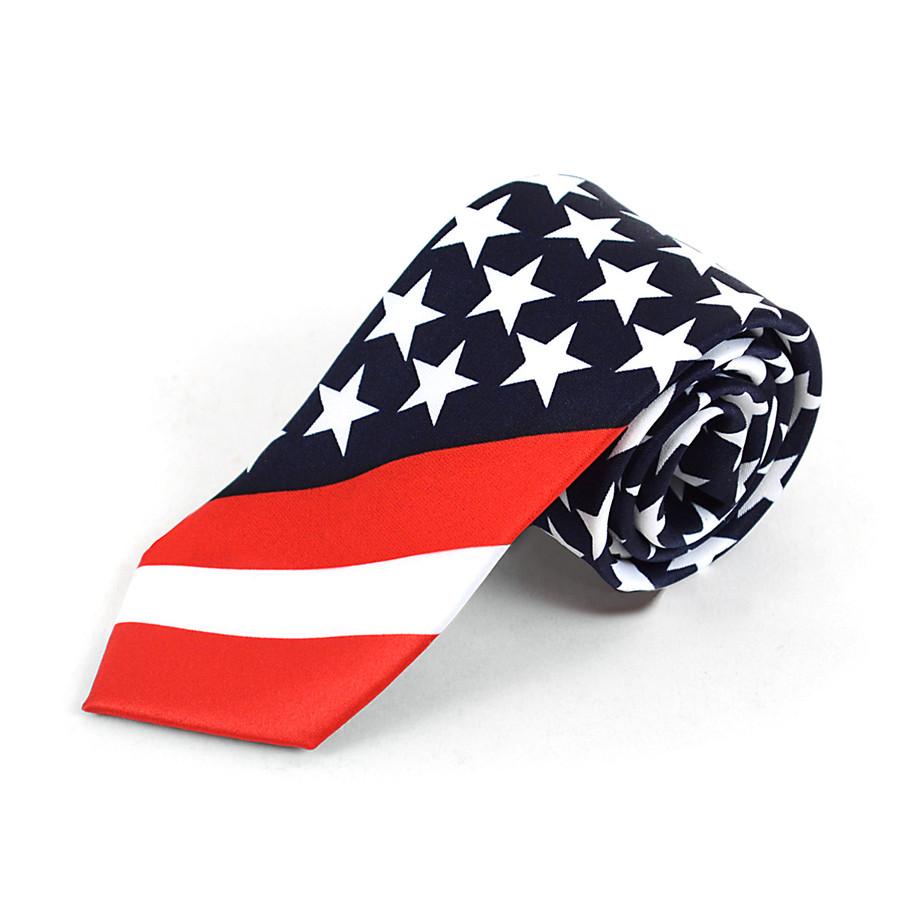 Boy's American Flag Novelty Tie - BN13129