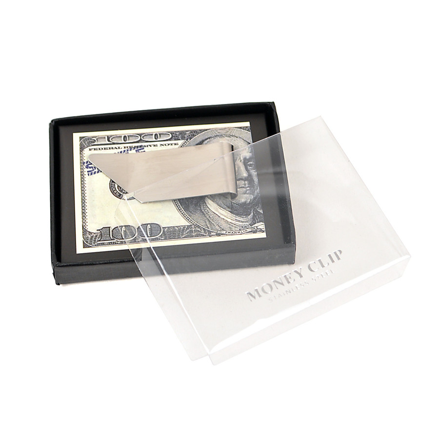 Sleek Design Zinc-Alloy Money Clip MC-11