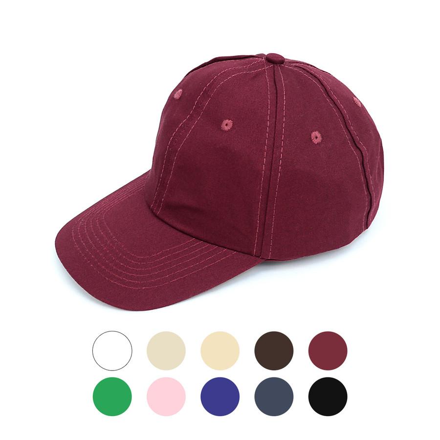 Traditional Cotton Twill Baseball Cap (COCAP4)