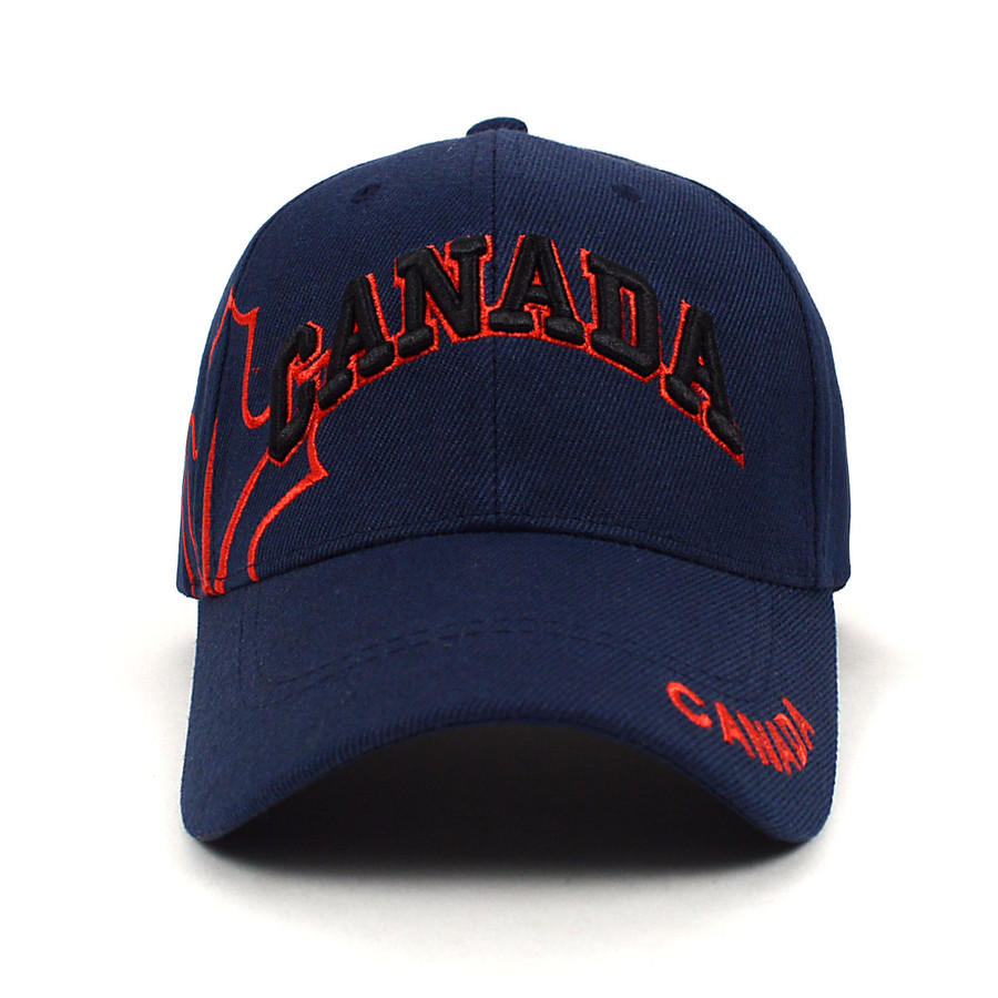 Canada Navy 3D Embroidered Baseball Cap, Hat EBC10307