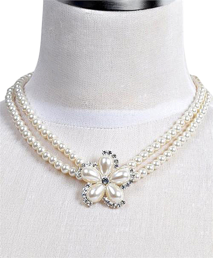 Pendant Necklace and Earrings Set - IMJS0502