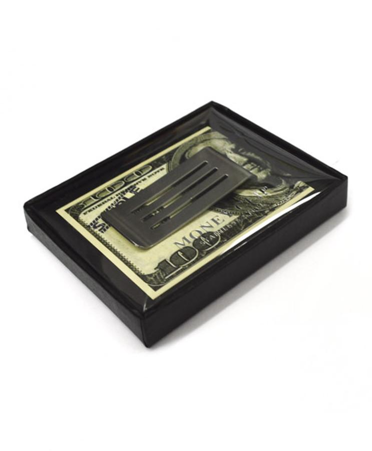 Sleek Design Zinc-Alloy Money Clip MC-10