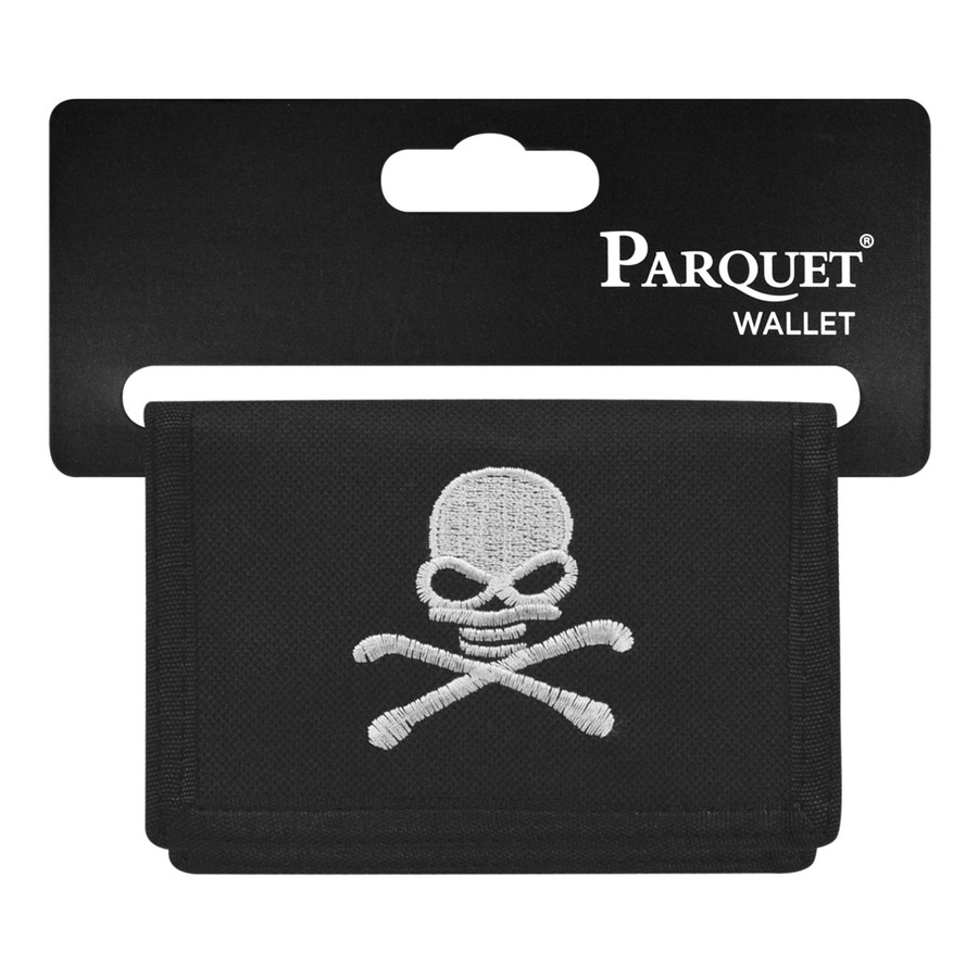 Men's Polyester Tri-fold Velcro Wallets MW10101