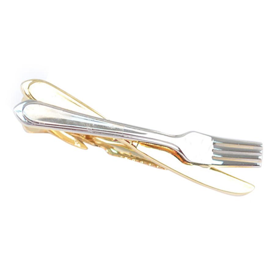 Knife & Fork Suites Novelty Tie Bar TB1332