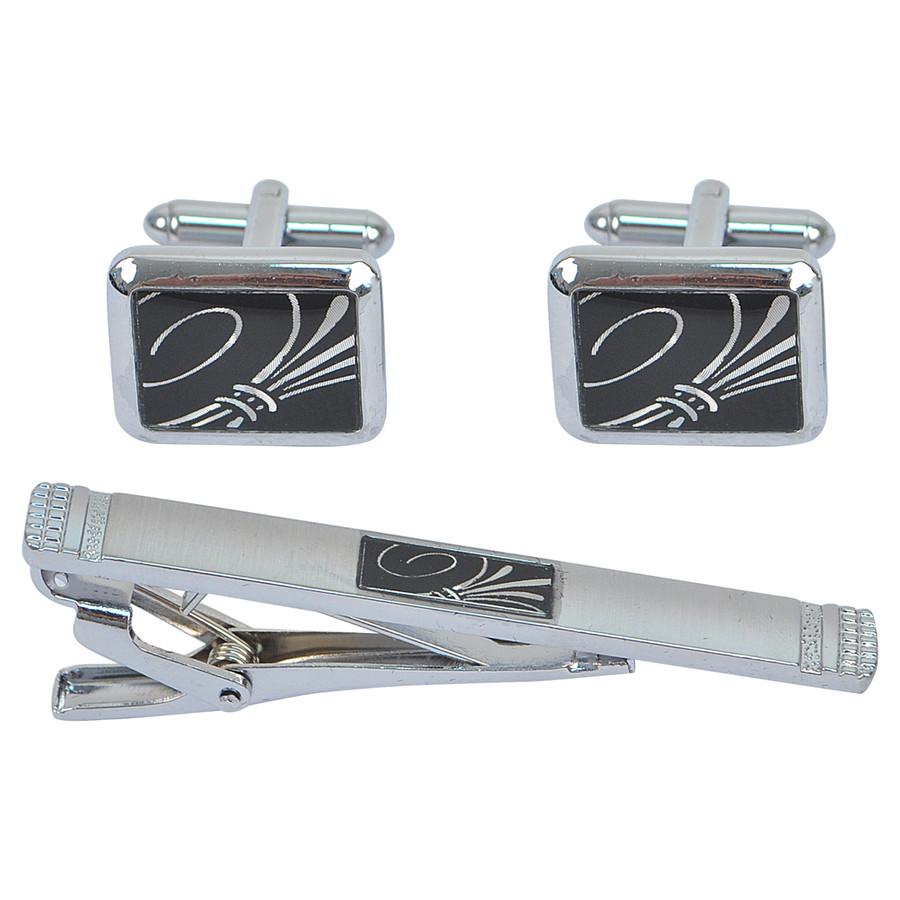 Cufflink and Tie Bar Set CTB2514
