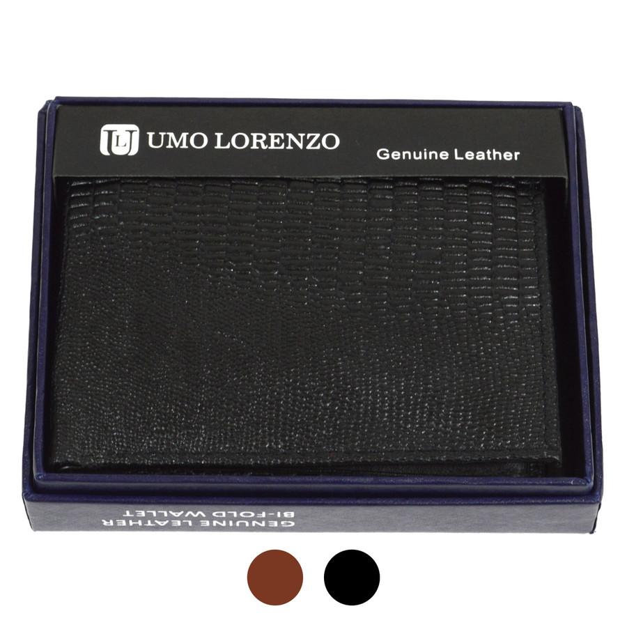 Bi-Fold Genuine Leather Lizard Wallet MGLW-B27L