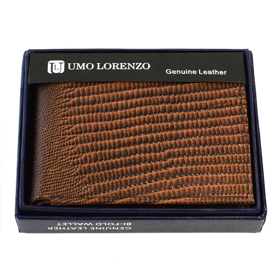 Bi-Fold Genuine Leather Brown Wallet MGLW-LZ2448