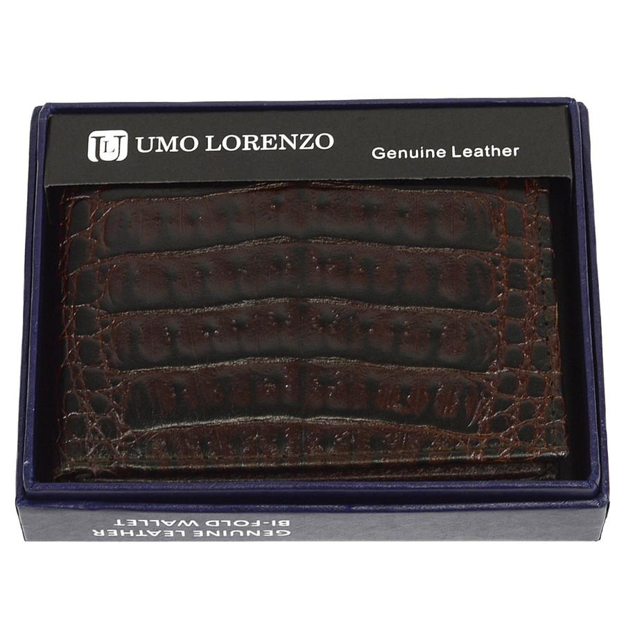 Bi-Fold Genuine Leather Brown Wallet CCG786BR