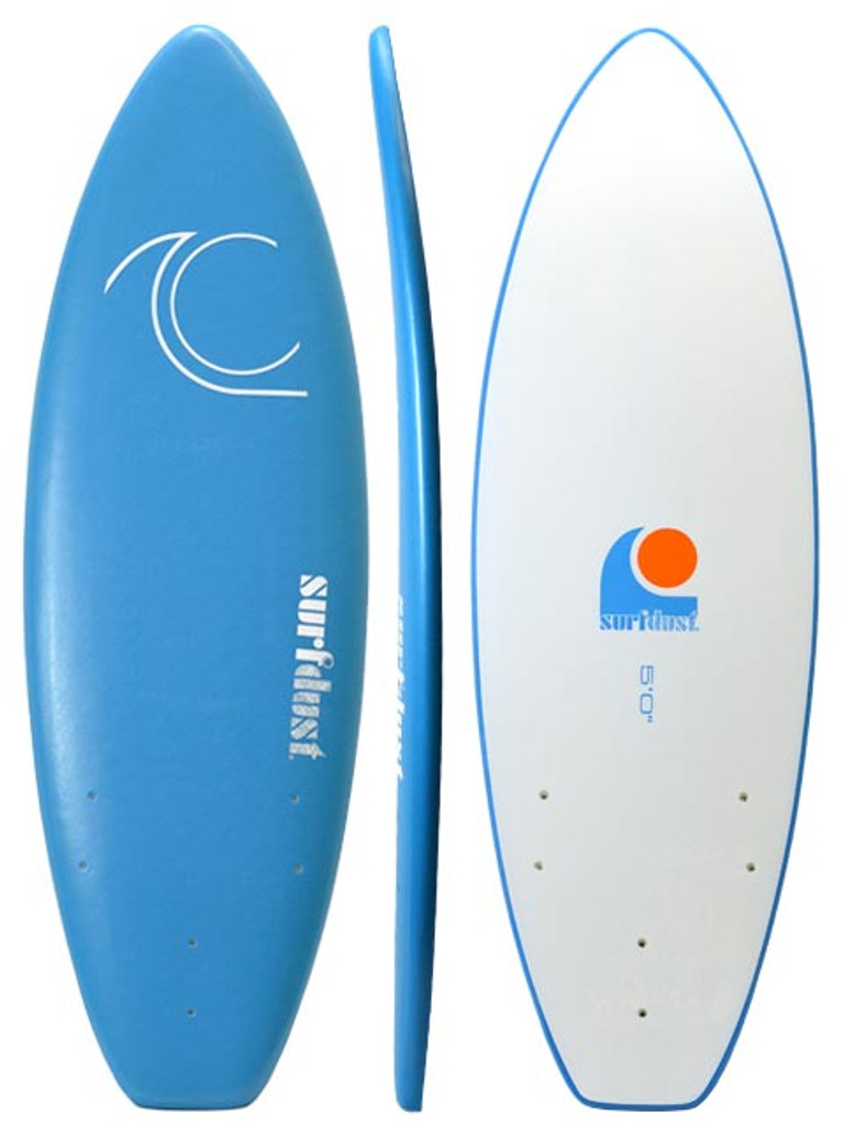 SURFDUST - Intro 5ft Soft Surfboard - Beginners Surfboard