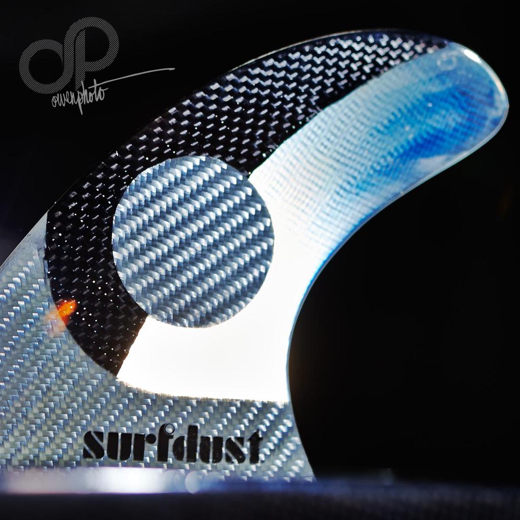 Surfboard Fins - SURFDUST SD1 - Tri Fins - FCS Compatible