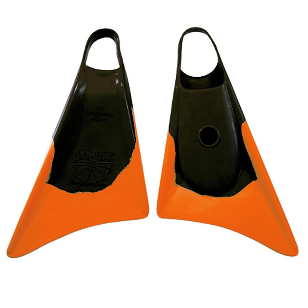 Churchill Swim Fins Limited Edition Black Orange