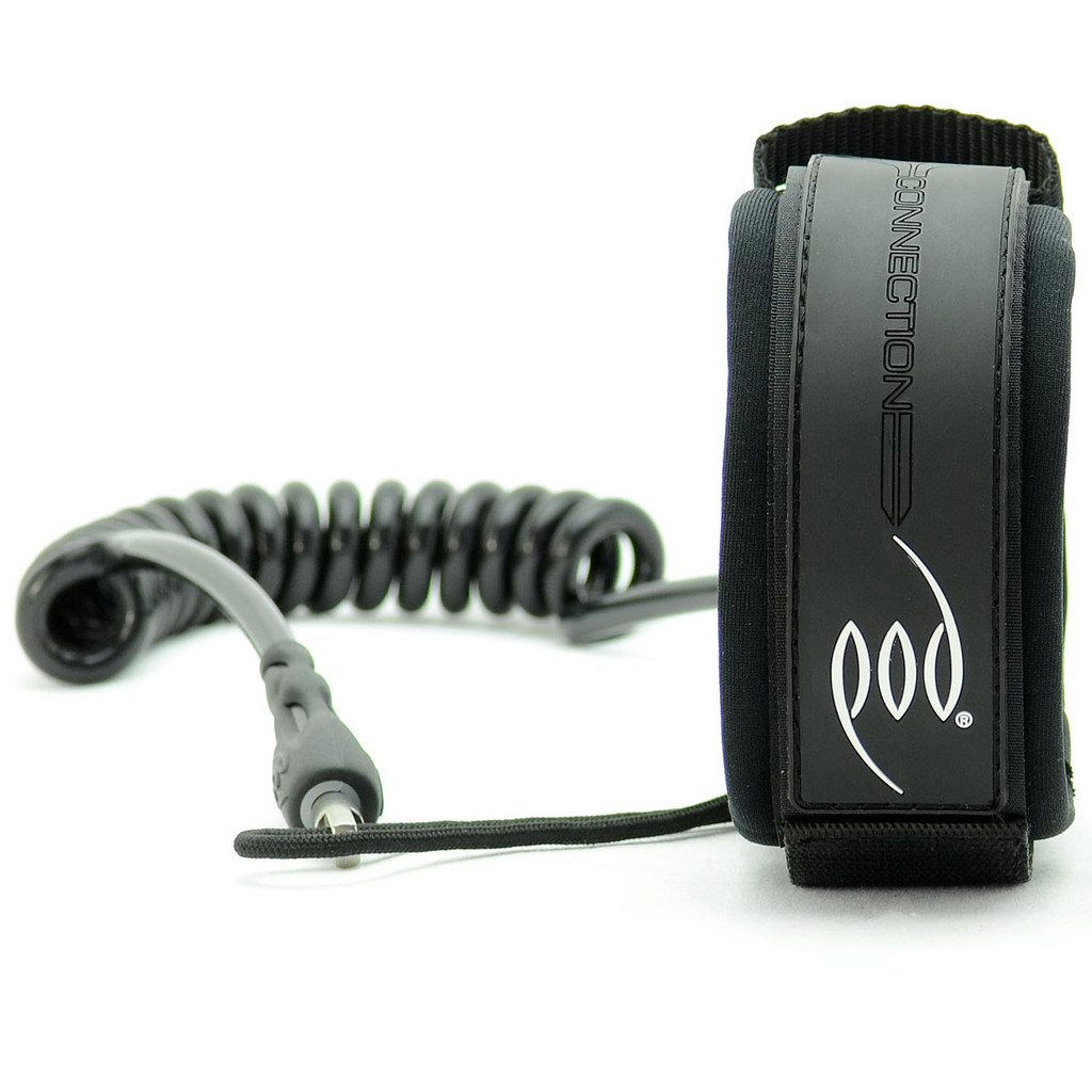 POD Drop Knee Bicep Leash - Stealth Black - POD Bicep Leash