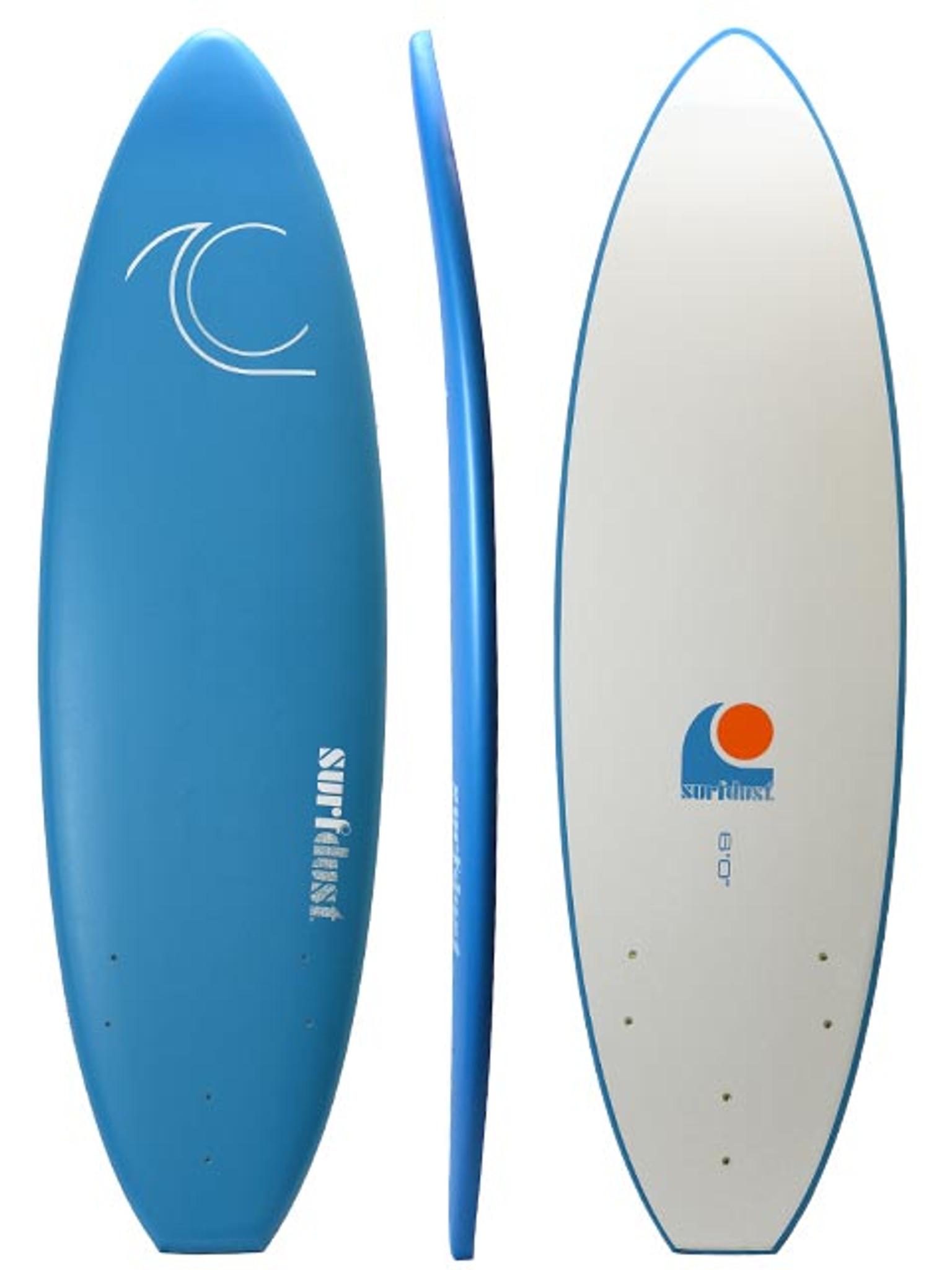 SURFDUST - Intro 6ft Soft Surfboard - Beginners Surfing