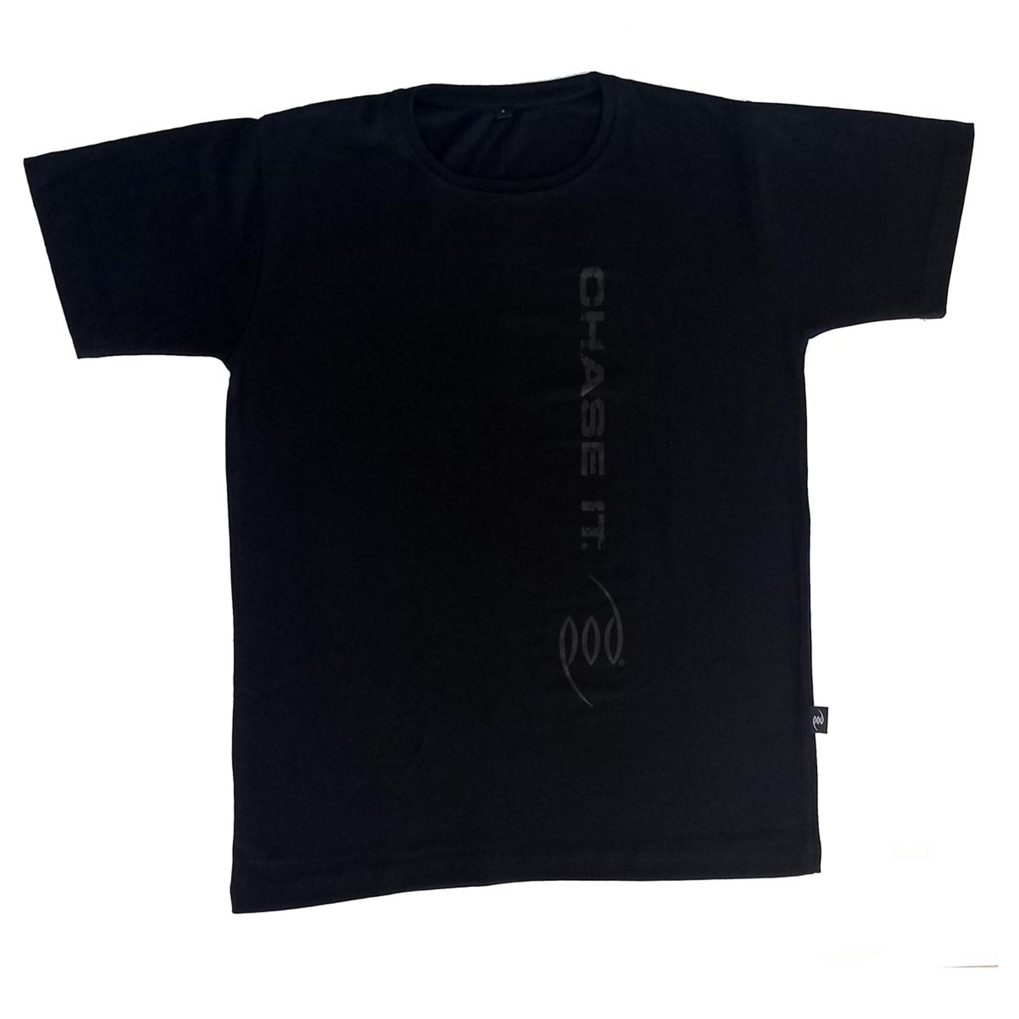 Black with black print