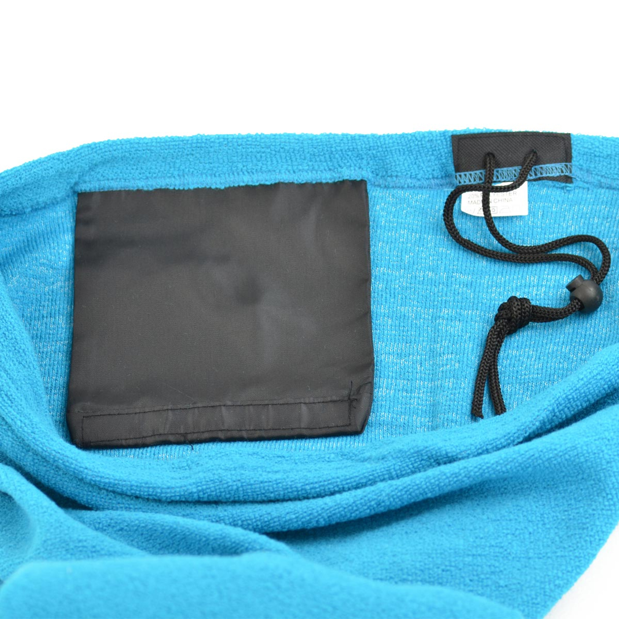 Internal Pocket, Draw String with Barrel Tie and Draw Cord Cover Protector.