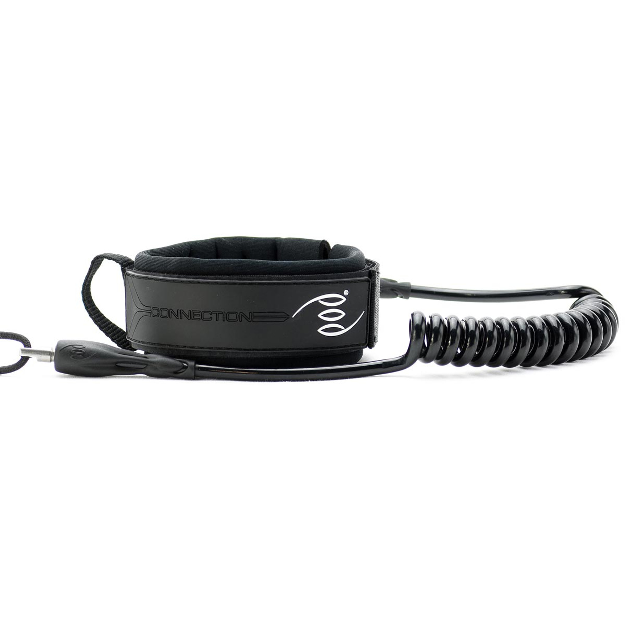 Drop Knee Bicep Leash - POD Connection Stealth Black
