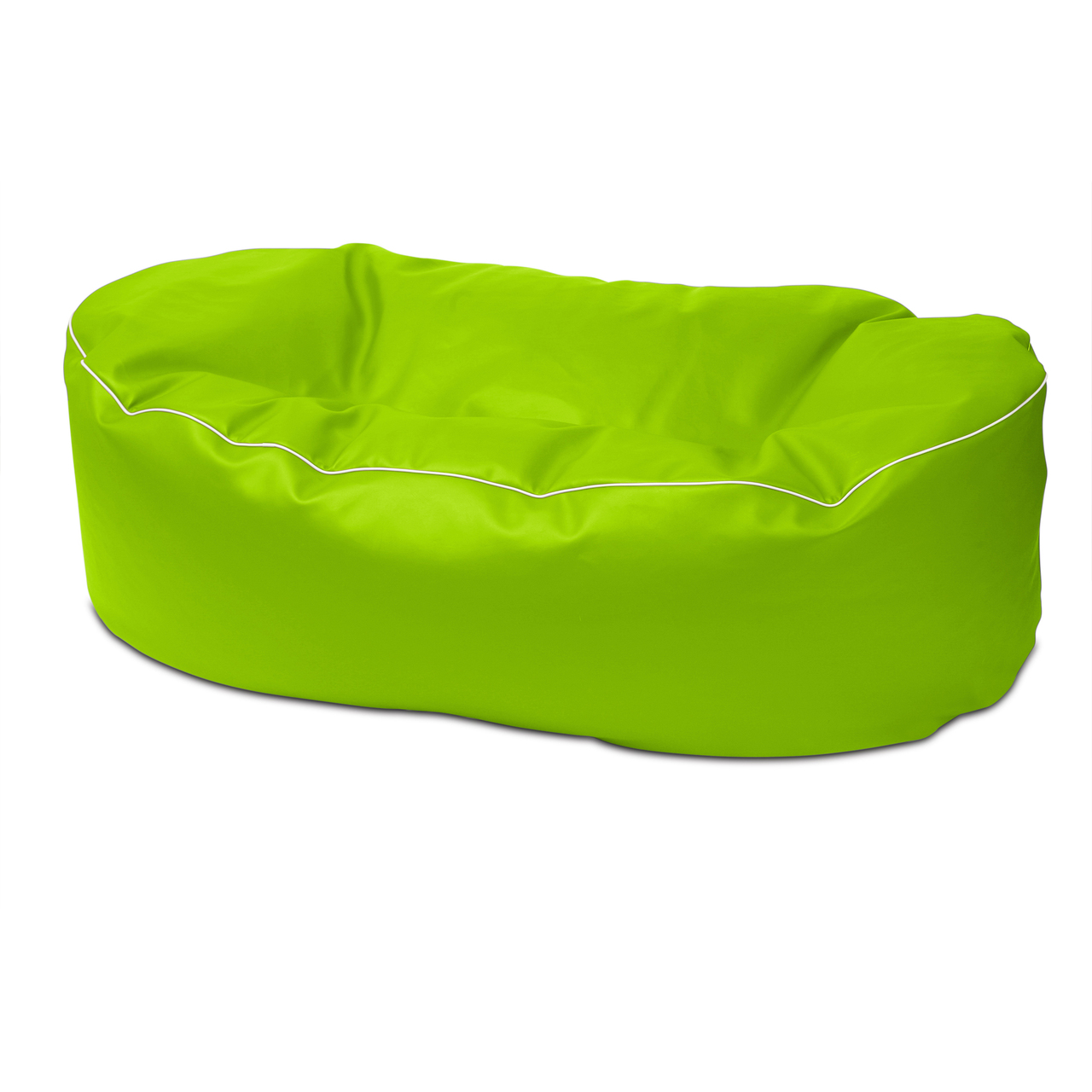Retro 2m Couch in lime