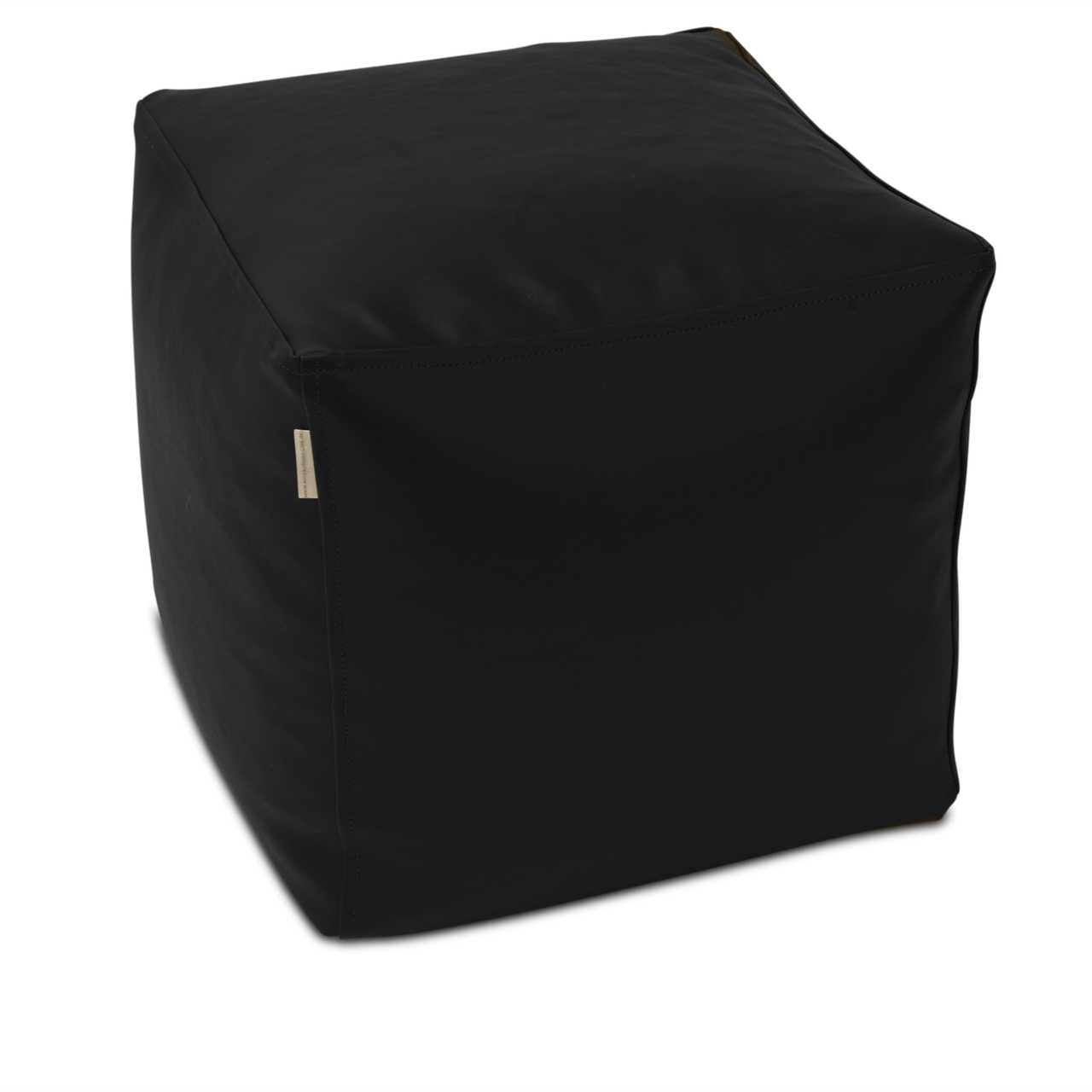 Classic Cube Poof in black