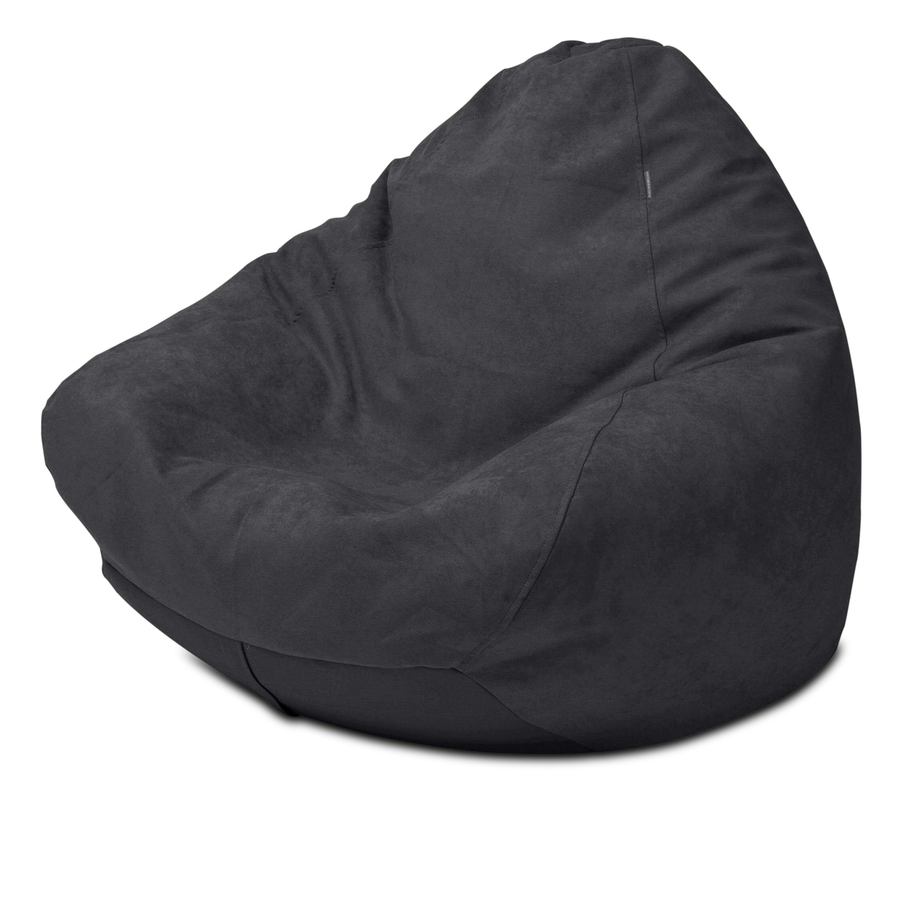 Warwick Macrosuede Queen Size Bean Bag in black